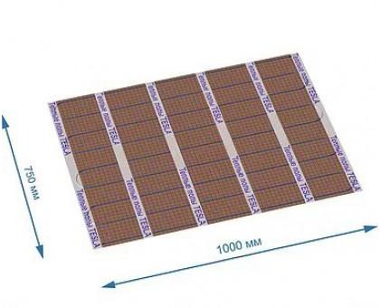 Кабельный теплый пол из углеволокна ТЕСЛА ТКС-04 на отрез 1*0.75