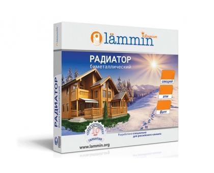 Радиатор биметаллический Lammin PREMIUM-96 04 секции