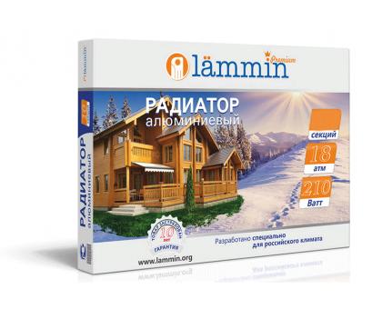Радиатор алюминиевый Lammin PREMIUM  8 секции