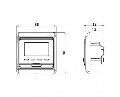 Терморегулятор программируемый Е-51.716